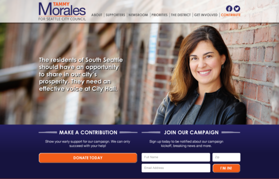 Tammy Morales for Seattle City Council